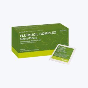 FLUIMUCIL COMPLEX 500 200 MG 12 COMPRIMIDOS EFERVESCENTES