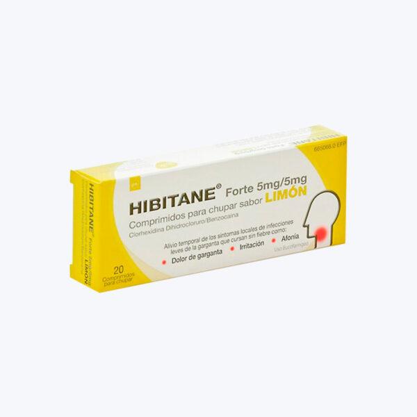 comprar HIBITANE 5 5 MG 20 COMPRIMIDOS PARA CHUPAR LIMON