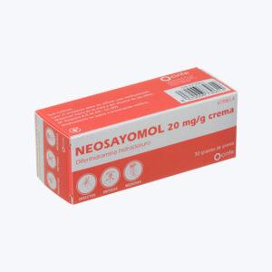 NEOSAYOMOL 20 MG G CREMA 30 G