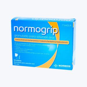 NORMOGRIP 650 4 10 MG 10 SOBRES GRANULADO SOLUCION ORAL