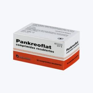 PANKREOFLAT GRAGEAS 6000 U 6000 U 400 U 80 MG 50 COMPRIMIDOS