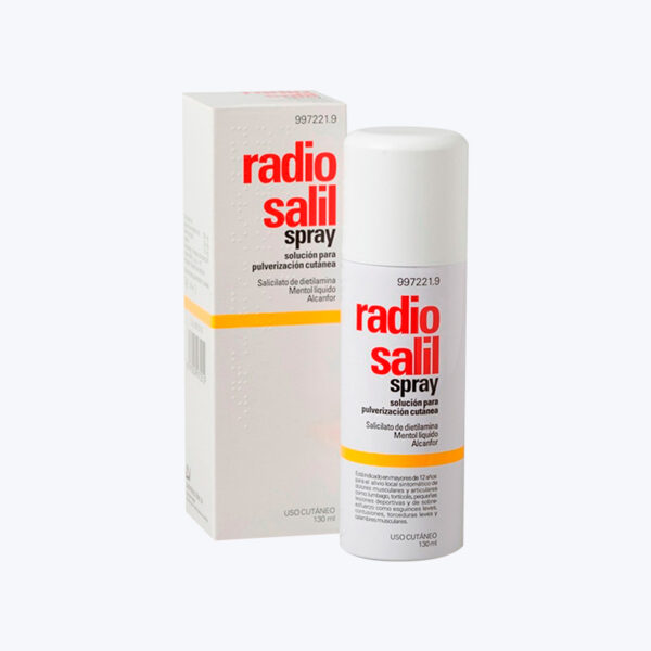 comprar RADIO SALIL SPRAY AEROSOL TOPICO 130 ML