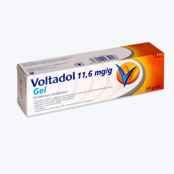 VOLTADOL 11.6 MGG GEL TOPICO 60 G
