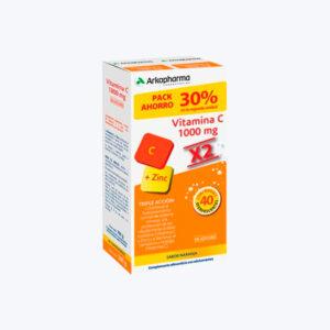 ARKOVITAL VITAMINA C 20X2 COMP