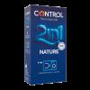 CONTROL 2 IN 1 NATURE LUBE NATURE 6UNID