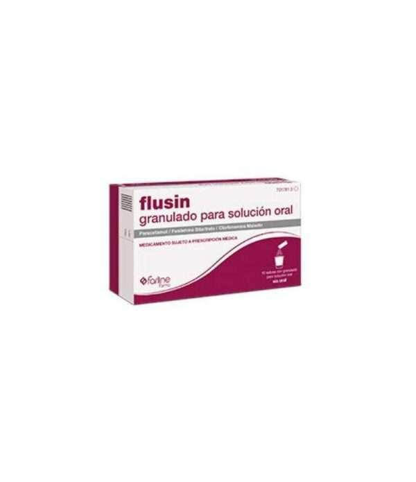 FLUSIN 1000 4 10 MG 10SOBRES GRANULADO