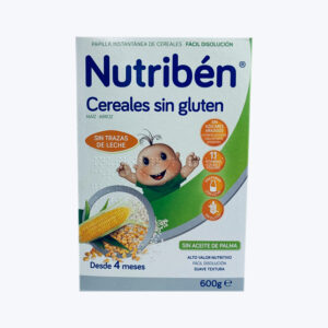 NUTRIBEN PAPILLA CER SIN GLUTEN 600 G