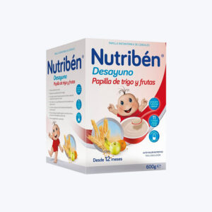NUTRIBEN PAPILLA DESAYUNO DE TRIGO CON FRUTA 600
