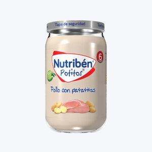 NUTRIBEN POLLO CON PATATITAS POTITO 235 G