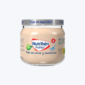 NUTRIBEN POTITO INICIO A LA CARNE POLLO CON ARRO 120 G