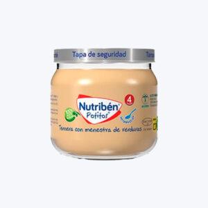 NUTRIBEN POTITO INICIO A LA CARNE TERNERA CON ME 120 G