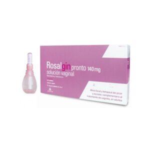 rosalgin pronto 140 mg solucion vaginal 5 unidosis 140 ml