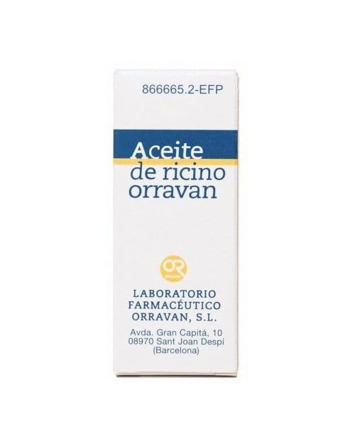 Aceite Ricino Orravan 1 Gml Liquido Oral 1 Fras