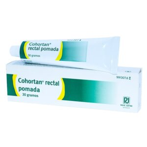 COHORTAN RECTAL POMADA RECTAL 1 TUBO 30 g