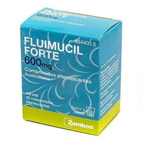FLUIMUCIL FORTE 600 MG 20 COMPRIMIDOS EFERVESCENTES 1