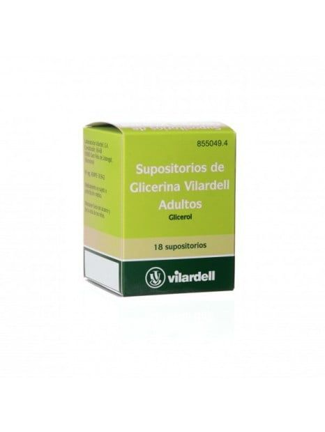 SUPOSITORIOS DE GLICERINA VILARDELL ADULTOS 3 g