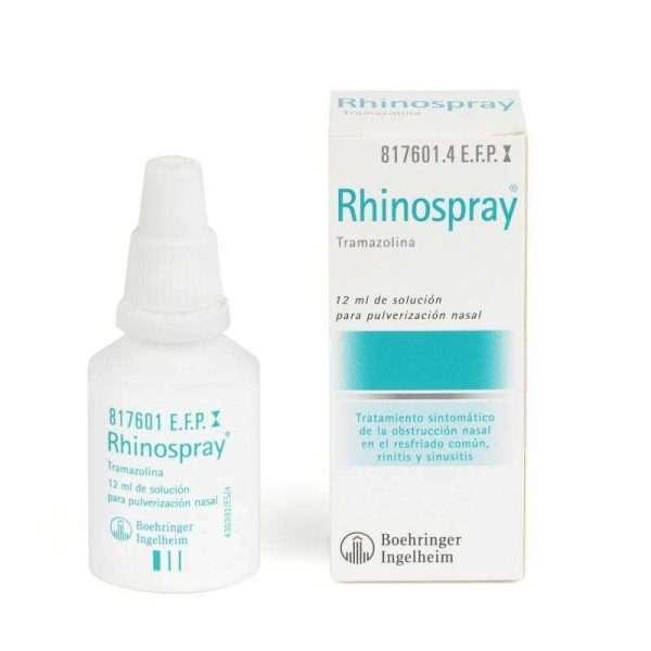 rhinospray 1 18 mg ml nebulizador nasal 12 ml