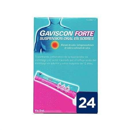 Gaviscon Forte 24 Sobres Suspension Oral 10 Ml
