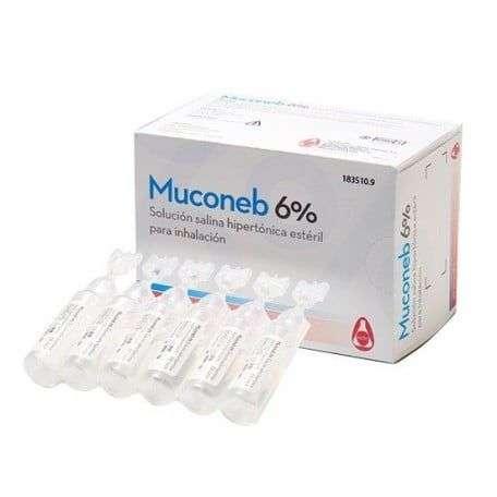 MUCONEB 6 SOLUC SALINA 30 AMP