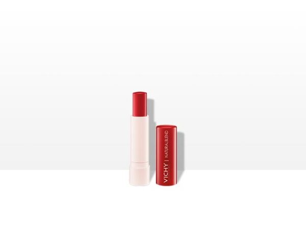 Natural Lips Balsam Labial Hidratante Con Color Red
