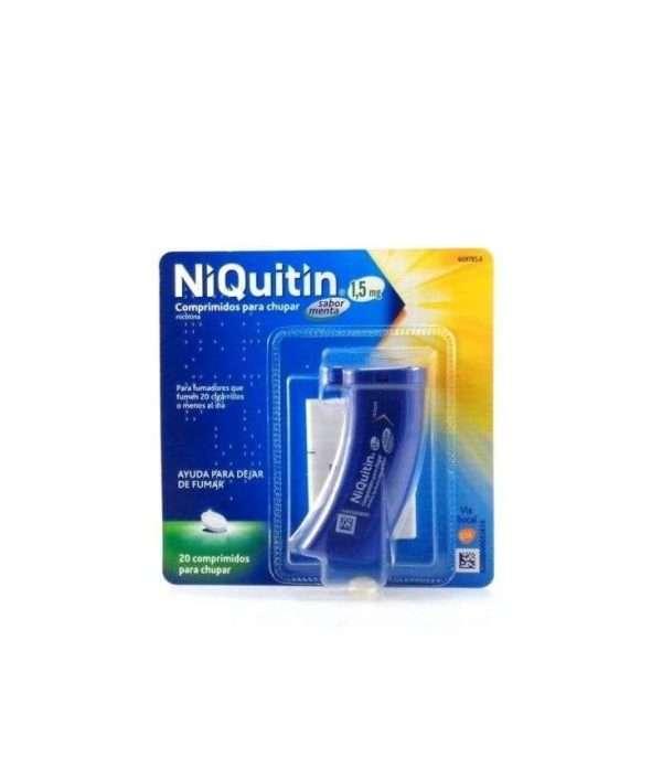 Niquitin 15 Mg 20 Comprimidos Para Chupar Sabor Menta