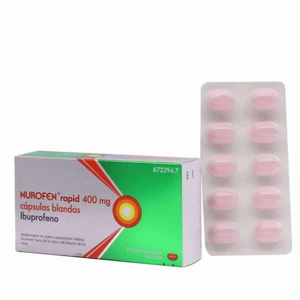 Nurofen Rapid 400 Mg 20 Capsulas Blandas