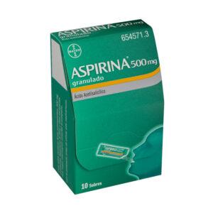 Aspirina 500 Mg 20 Sobres Granulado Oral