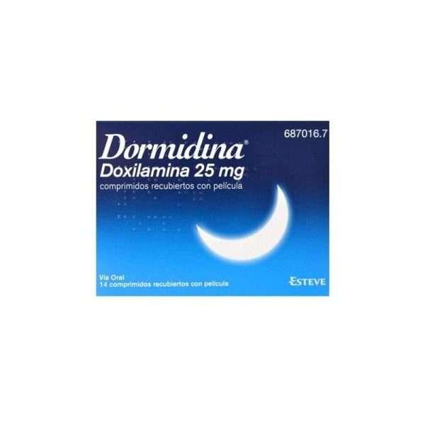 Dormidina 25 Mg 14 Comprimidos Recubiertos