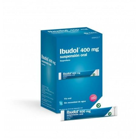 Ibudol 400 Mg 20 Sobres Suspension Oral 10 Ml