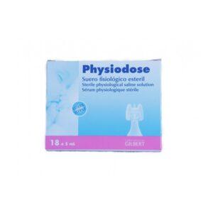 Physiodose Suero Fisiologico Monodosis 18 Unidades x 5ml
